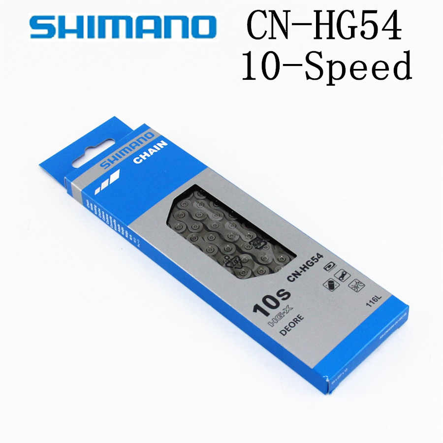 CN-HG54 10-Speed MTB Chain Shimano CS-HG500-10 Deore 10Spd Cassette 11-34t