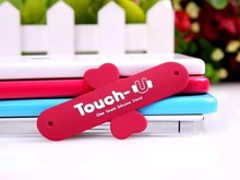 2pcs Cool gadget Touch-U Silicon Stand phone Holder Mobile support  para