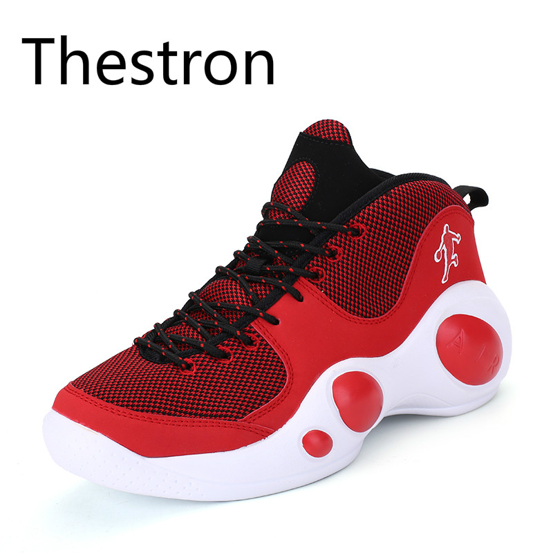 Men Basketball Shoes 2017 Male Men Sports Basketball Sports Shoes Men Athletic Shoes High-Top Rubber Damping Non-slip Sneakers original li ning men professional basketball shoes