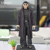 Mnotht 1:6 Leon The Professional Jean Reno Full Set Action Figure Model Toys KMF038 for 12in Soldier Collections Gift m3n