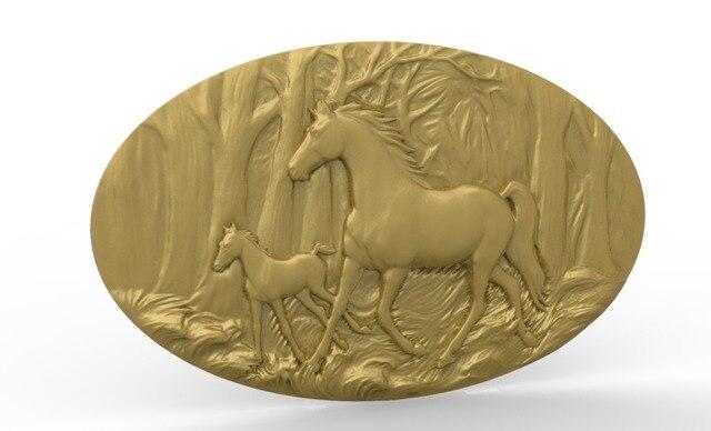 Cedar horse relief carving craigs mart