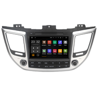 Quad Core Android 7.1 2 Din 1024*600 8 inch Car DVD Player For Hyundai IX35 TUCSON 2015 2016 2017 support 3G 4G WiFi GPS Radio