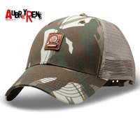 AUBREYRENE Hip Hop Caps Spring Summer Men Women Camouflage Cap Snapback Bone Mesh Baseball Cap Sunscreen