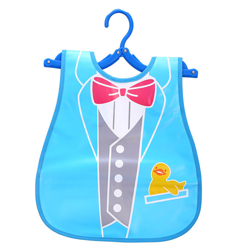 Adjustable Baby Bibs EVA Plastic Waterproof Lunch Feeding Bibs Baby Cartoon Feeding Cloth Children Baby Apron Babador de bebe (13)