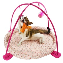 With cross-border for gout rang the bell cat tents, pet toy hammock exercise play a bed