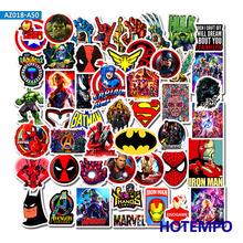 Super Hero Cartoon Comic Anime Stickers Pack Movies Character Men for Mobile Phone Laptop Luggage Skateboard Car Decal