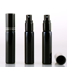 10 мл портативный черный УФ стекло многоразового использования флакон духов с пустой распылитель для парфюмерии Parfum чехол с тангентной бухтой