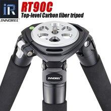 INNOREL RT90C(LT404C) מקצועי כבד החובה מצלמה חצובה אולטרה יציב למעלה רמת צפרות מצלמה Stand 40mm רגל צינור