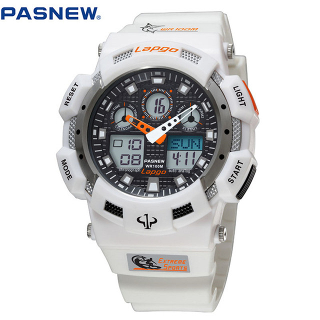 Male Fashion Sport Military Wristwatches 2016 New Watches Men Luxury Brand 10ATM 100m Dive LED Digital