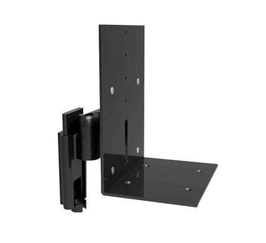 BL S01 di Alluminio Montaggio A Parete Speaker Supporto Tilt Swivel Audio Altoparlante di Montaggio Staffa di montaggio Rapido Facilità di Installazione Supporto Rack