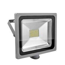 1 Шт. Водонепроницаемый Высокой Мощности 80 Вт 6000LM 5630SMD Светодиодные Лампы Прожектор Светодиодный Датчик Прожектор Сад Наружного Освещения 85 В-265 В