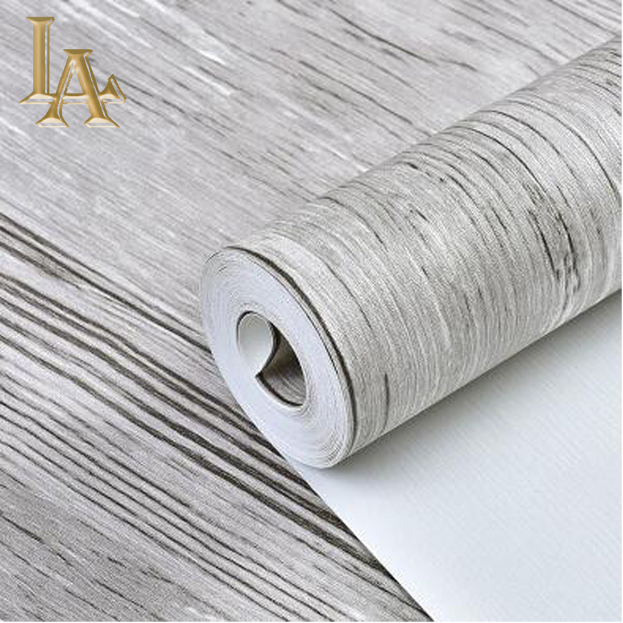 Buy vintage chinese striped textured wood for Waterproof wallpaper for home
