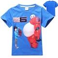 New Summer Short Sleeve Boys T Shirt Cartoon Print O Neck Cotton Toddler Baby Kids T-shirt Children Tops Tees Clothes