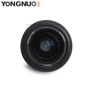 Image 2 - YONGNUO YN35mm F2.0 F2N weitwinkel AF/MF Fixfokus objektiv für Nikon F Mount D7100 D3200 D3300 D3100 D5100 D90 DSLR Kamera 35mm