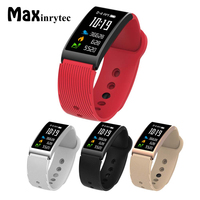 Maxinrytec X3 High Quality Wrist Band Fit Bit Flex Smart Watch IP68 Waterproof Heart Rate Tracker Smartband Fitness Monitor