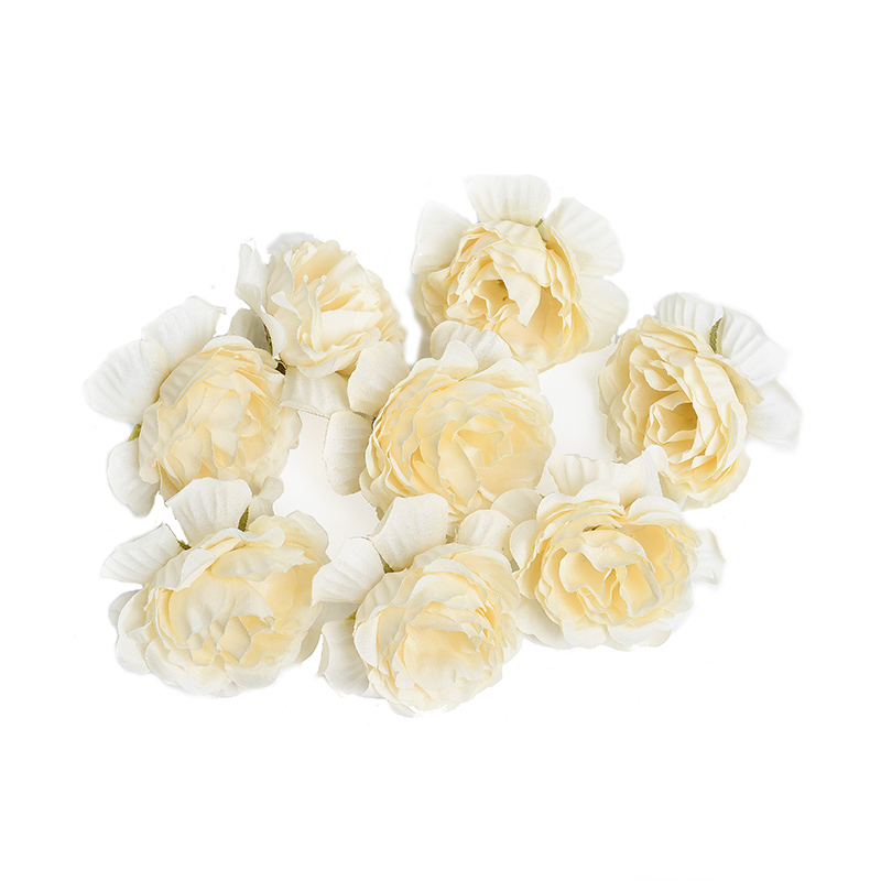 10pcs/lot Silk Roses Artificial Flowers For Wedding And Home Decorations 10