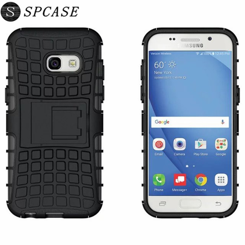 SPCASE Luxury Tire Dual Layer Silicone Phone Case for SAMSUNG Galaxy S8 Plus S7 Edge S6 Edge Plus Note 8 A5 2017 J7 Hybrid Capa