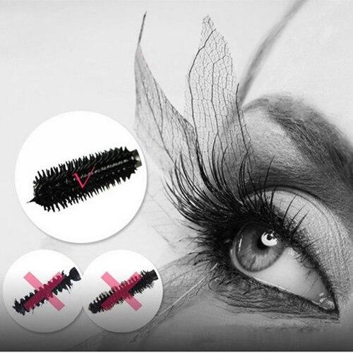 2016 Black Beauty Salon Cosmetic Makeup Curling Lengthening Eyelash Extension font b Mascara b font Brush