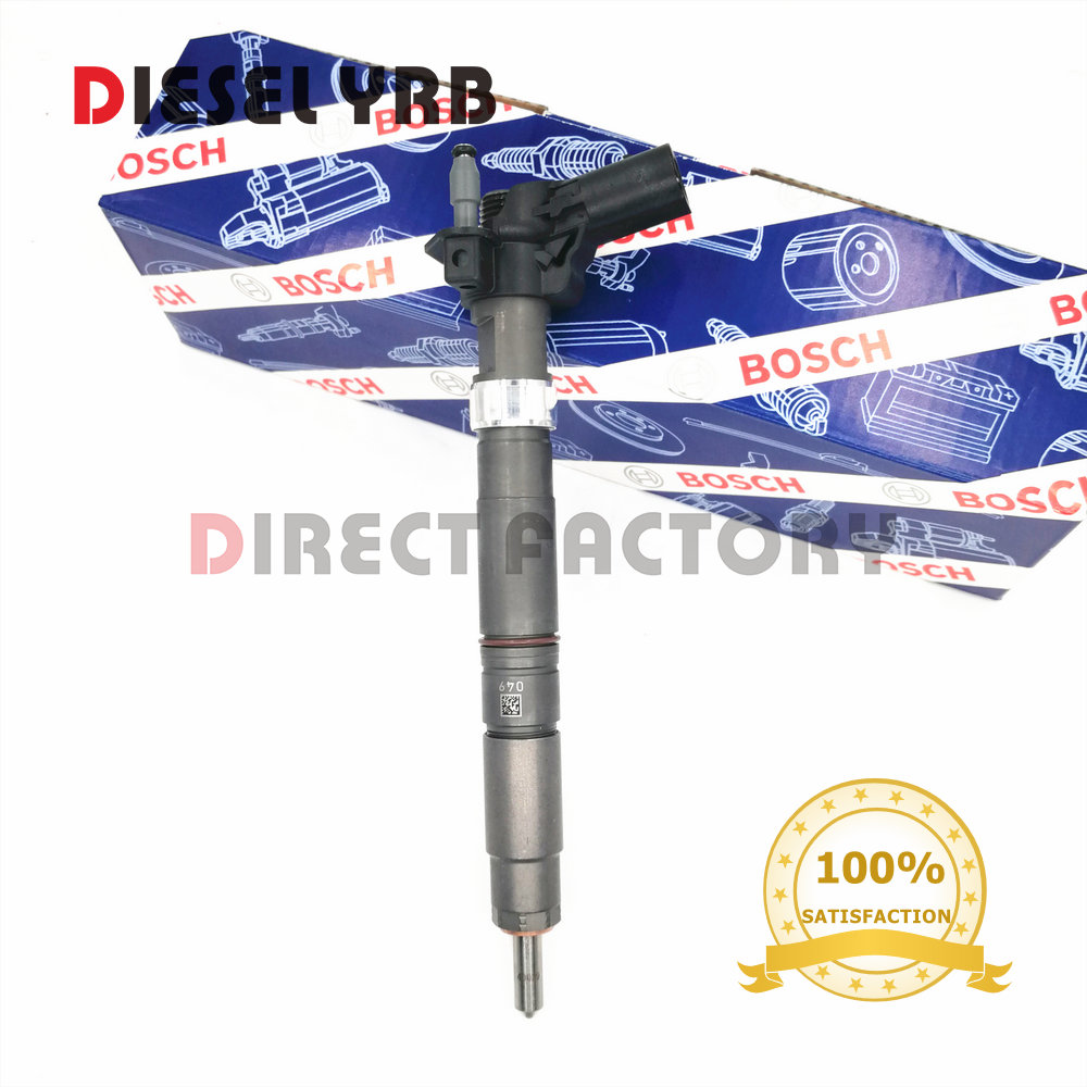 New Common rail Injector 0445116035, 0445116034, 0 445 116 035 0 445 116 034 for VVVW <font><b>03L130277C</b></font> 03L 130 277C Genuine image