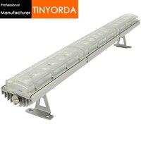 Tinyorda twh6745 5 pccs (길이 1 m) 75 w washwall 전등 모듈 히트 싱크 포함 pcb 및 렌즈 [전문 제조 업체]