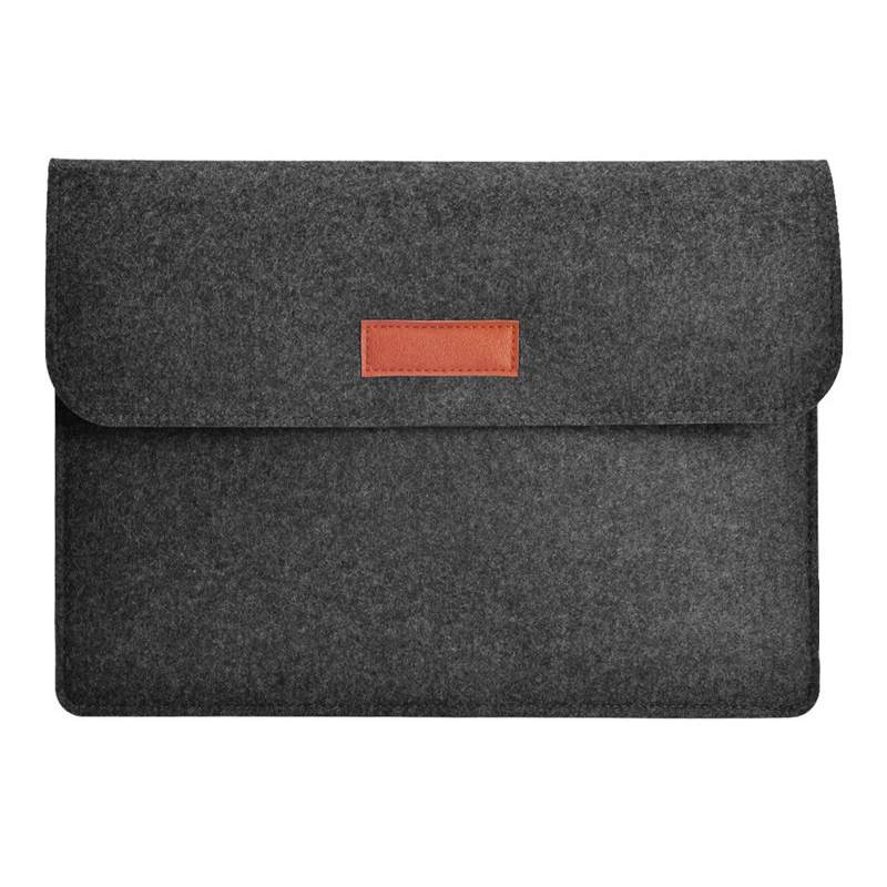 Image 2 - ウールフェルトスリムトップスリーブノートブックバッグ Macbook Pro の網膜 11 13 15 ケース Xiaomi 空気  12.5 13.3 15.6 表面のノートパソコン 13.5 カバー -    グループ上の パソコン
