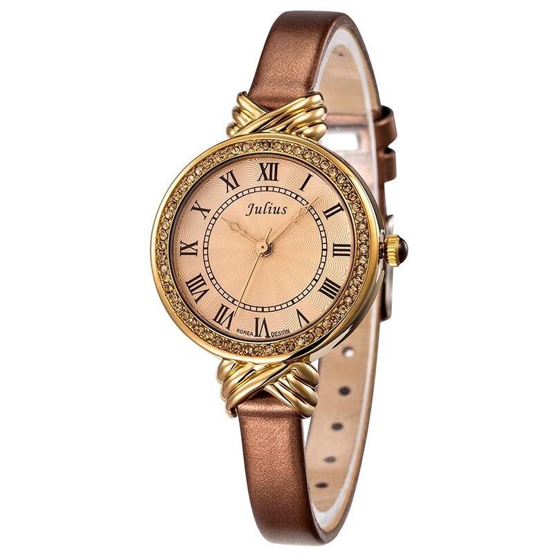 a3a49a12e1e9 №Señora mujeres reloj Japón cuarzo horas mejor moda vestido pulsera ...