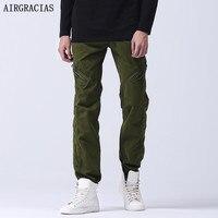AIRGRACIAS New Military Tactical Pants Mid Waist Zipper Men S Outdoors Work Cargo Army Pants Casual