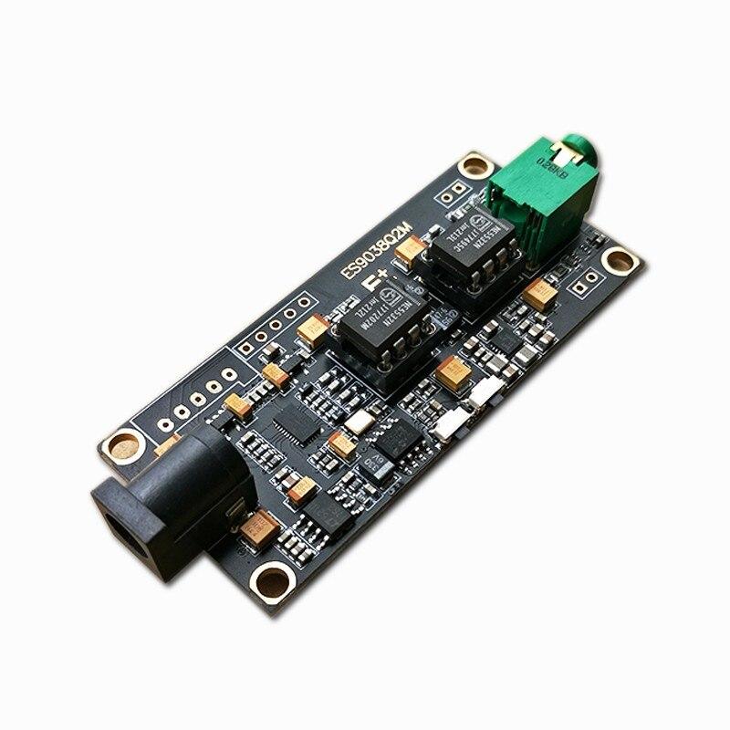 Decodificador de ES9038Q2M I2S entrada ES9038 asíncrono USB (2 piezas 5532 OP AMP)-in Módulos de control / reconocimiento de voz from Productos electrónicos    1