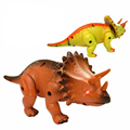 Juguete eléctrico grande tamaño dinosaurio caminando robot With triceratops Tyrannosaurus Rex niños juguetes para niños de regalos envío gratis