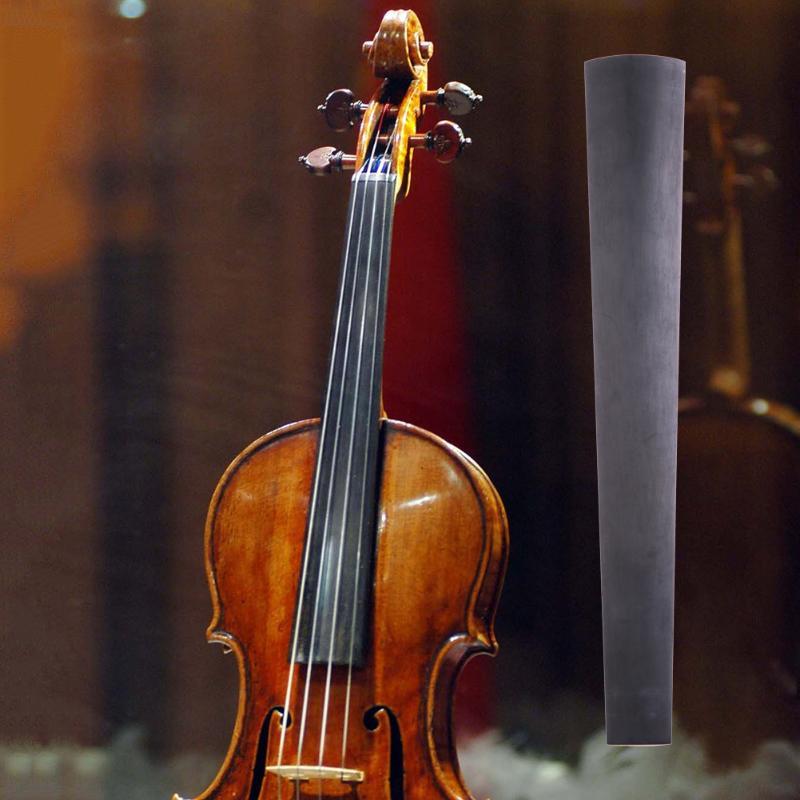 1pcs Ebony Violin 4/4 Fingerboard Violin Parts Wooden Parts Musical Instruments Labels Sticker Fingerboard Acoustic Electric Sports & Entertainment