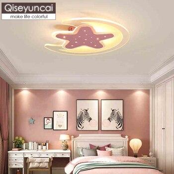 Qiseyuncai Modern children\'s room girl led ceiling light ...