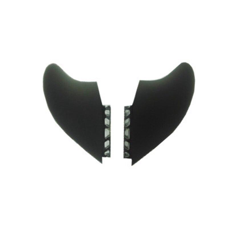2018 NOUVEAU Design hotsales homb fiber de verre ailerons 2 pcs/ensemble XXXL taille pour le surf ailettes XXXL FCS L'avenir FCS II d'AILERON