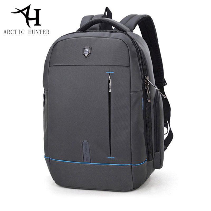 ARCTIC HUNTER 15.6 laptop Business Backpack Men Casual Travel Bag Nylon Waterproof Backpack school bag women Notebook male gift цена