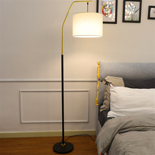 цены на Nordic Fishing LED Floor Lamps Living Room Bedroom Bedside LED Floor Light Lighting Wind Vertical Standing Lamp Kitchen Fixtures  в интернет-магазинах