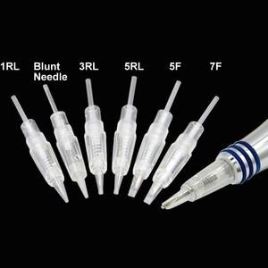 Image 4 - 50pcs Microblading Cartridge Needle for Charmant Device Permanent Makeup Machine Pen 2019 Charme Princesse Tattoo Machine Needle