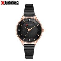 CURREN Women Steel Bracelet Watch Luxury Brand Wrist Watches Women Quartz Wristwatch Ladies Fashion Watches Relogio Feminino