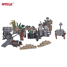 MTELE Brand Figures Military SWAT Soldier Building Blocks Compatible with Lego Toys for Children High Quality