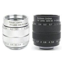 Новые CCTV 35 мм f1.7 Крепление объектива кольцо для Canon EOS M M2 M3 M5 M6 M10