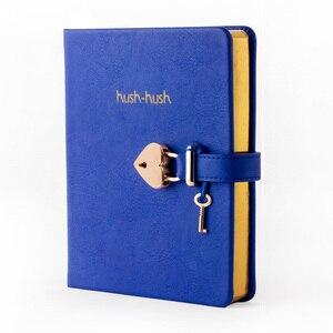 Image 4 - هوش هوش بلدي مذكرات سرية الطبعة الذهبية ، مجلة دفتر مذكرات مع قفل * أفضل بائع