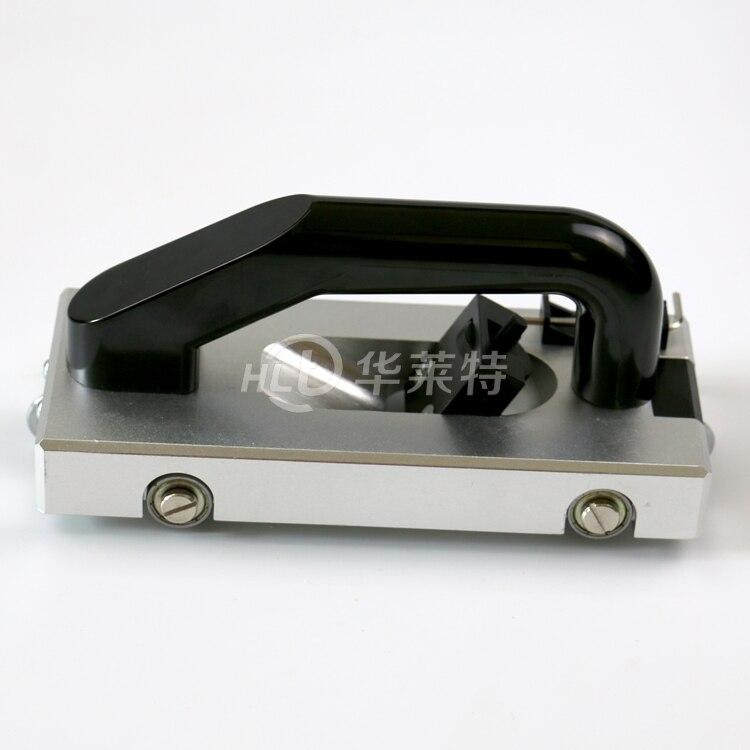 Guide wheel slotter Manually push slotted font b knife b font for PVC plastic sports floor