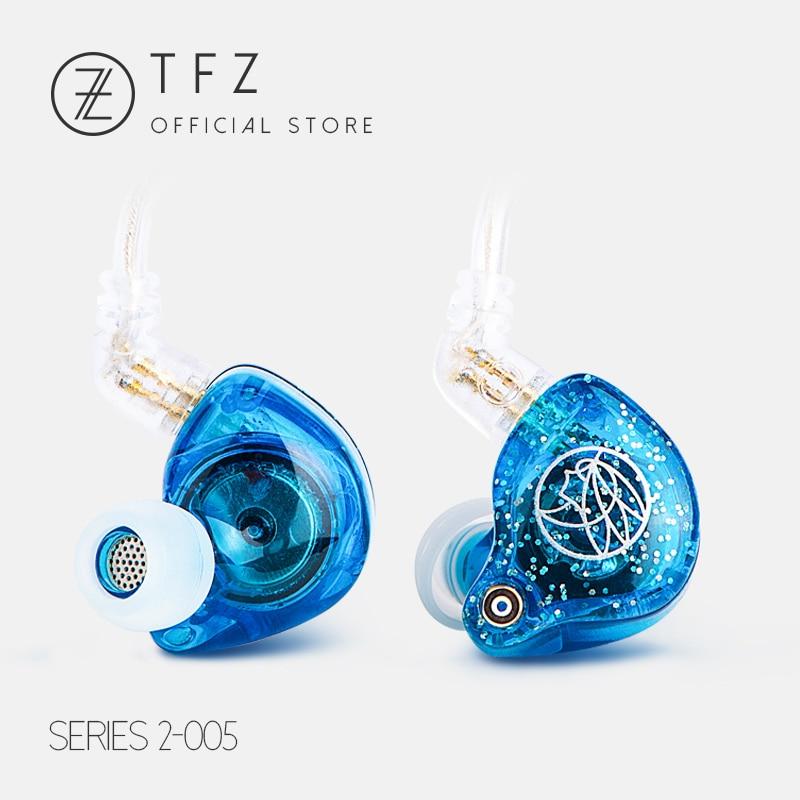 Le Parfumé Cithare/S2 Dynamique Pilote HIFI Écouteurs, TFZ Écouteurs Avec Contrôle Mic Haut-Parleur, 2Pin/0.78mm câble Détachable 105dB