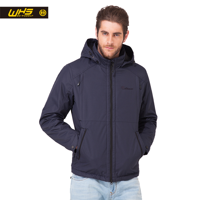 WHS 2018 Новая мужская тонкая куртка на синтепон осень ветрозащитная теплая куртка весна мужской Для отдыха Пеший Туризм Куртки Лидер продаж тонкий синтепон для мужчины