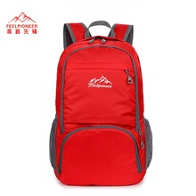 35L Lightweight Skin Bag Waterproof Nylon Backpack Foldable Bagpack Men Women Sport School Back Bags Camping Hiking Pack
