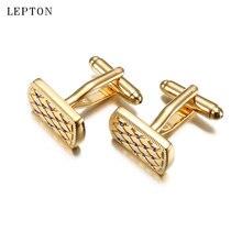 Новейшие золотые хрустальные Зажимы для галстука lepton matel