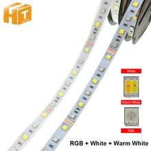 RGB+CCT LED Strip 5050 DC12V RGB + White Warm 60 LEDs/m 5m/lot RGBW Light.