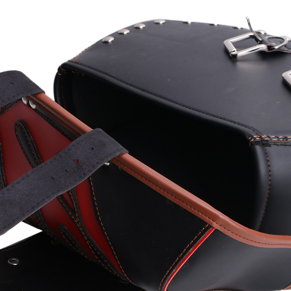 Motorcycle Refit Bag PU Saddle Bag Kit Front Pack FOR Cruise Prince Car Hanging Bag