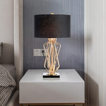 Modern Tiffany-Style Table Lamp Bedroom Bedside Metal Table Lights Home Deco Desk Lamp Cover Living Room Hotel Desk Light hot sale high grade tiffany table lamp european style retro lamp living room bedroom lamp glass luxury light