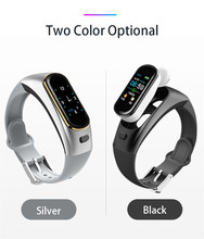 H109 Smart Watch Bluetooth Wireless Earphone Blood Pressure Heart Rate Monitor Smart Bracelet for Apple for Iphone