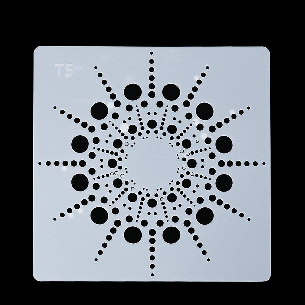 Us 0 57 28 Off Diy Craft Mandala Auxiliary Layering Stencils For Walls Painting Scrapbooking Stamp Album Decor Embossing Paper Card Template 65 On