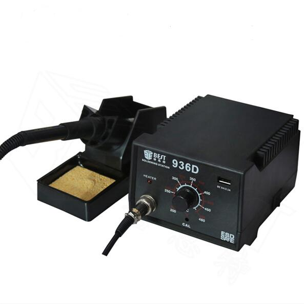 Teperature control soldering station lead free soldering iron  BST-936D Soldering Station quick ts1200a intelligent touch lead free soldering station electric iron 120w anti static soldering iron soldering station